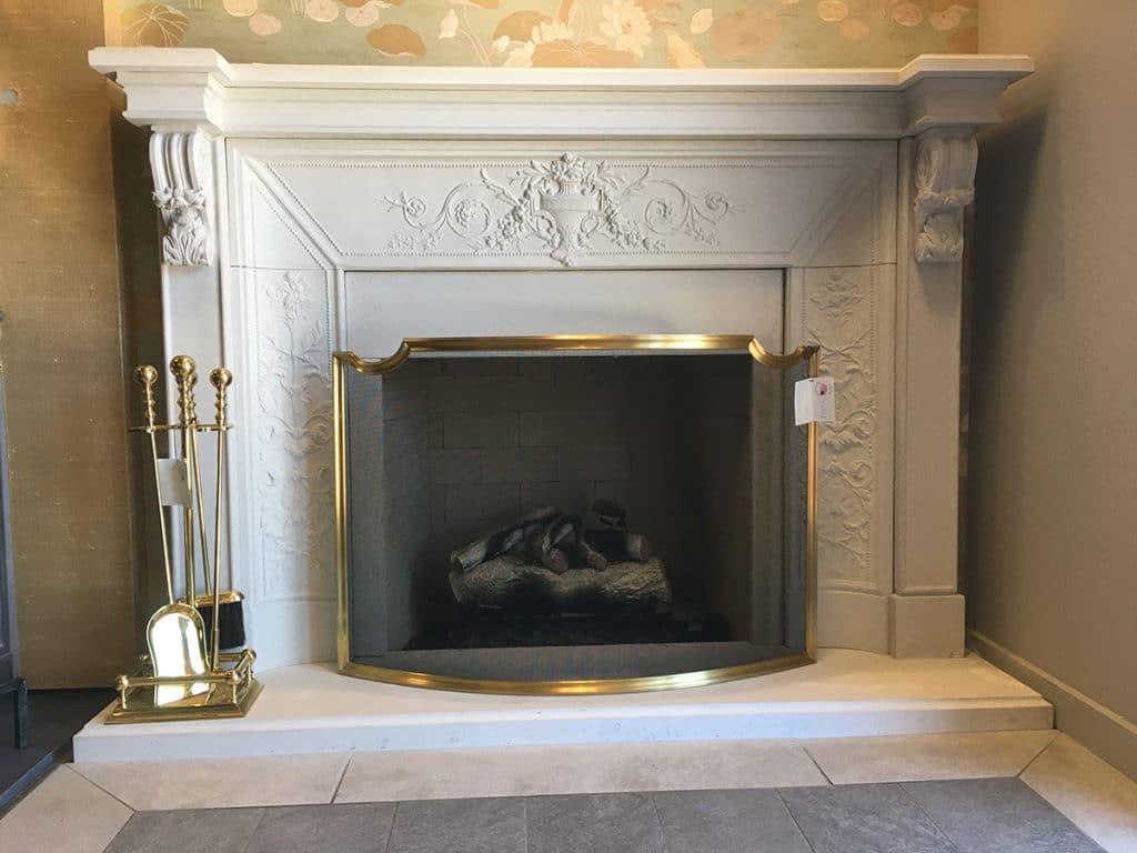 Cornerstone tuscany fireplace