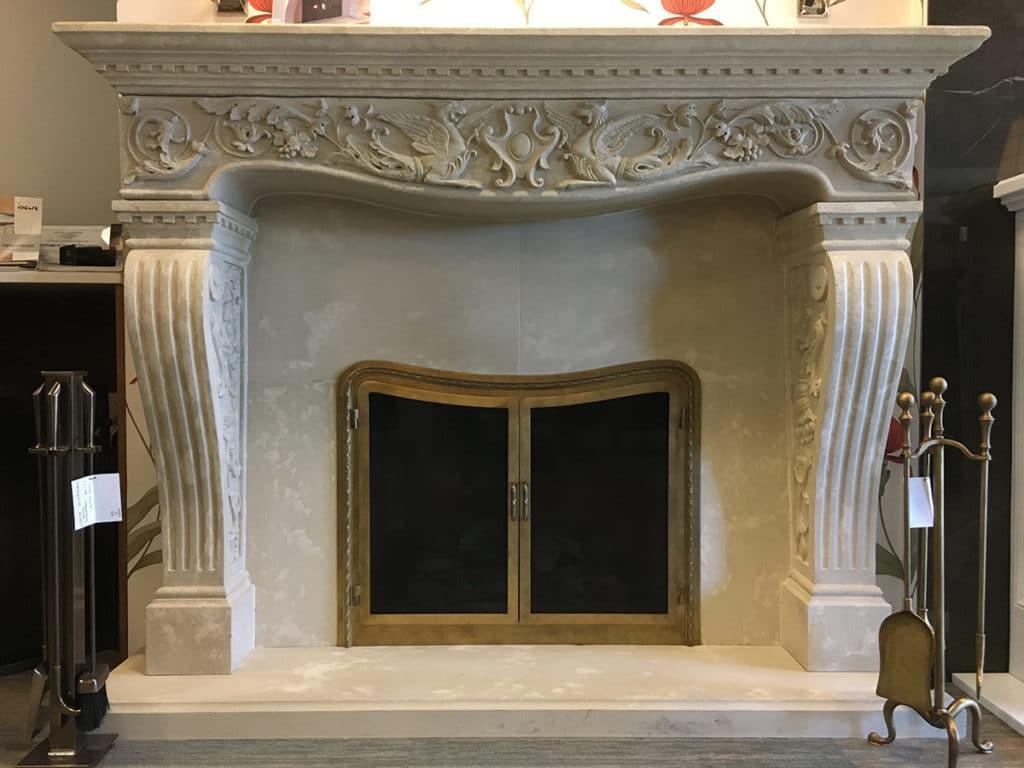 Cornerstone vincenza fireplace