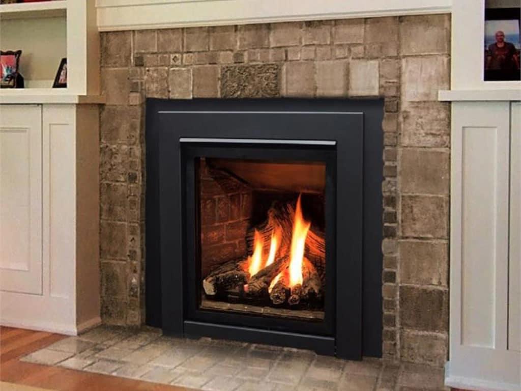 Enviro Q1 Insert Classic Log Fireplace